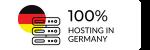 Hosting zu 100% in Deutschland
